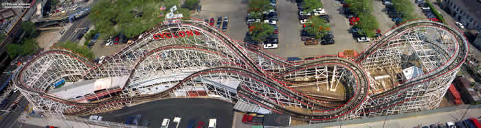 Image By Joe Schwartz At Joyrides Coney Island Cyclone1htm Accessed On 5 18 2012 Notice How