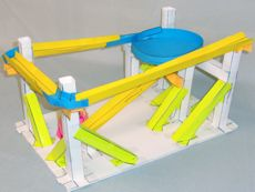 Paper roller coaster templates playbestonlinegames for Paper roller coaster loop template