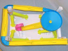 Paper roller coaster teacher information for Paper roller coaster loop template